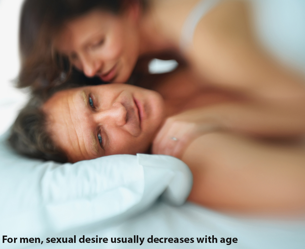 Mens sex drive decreases with age